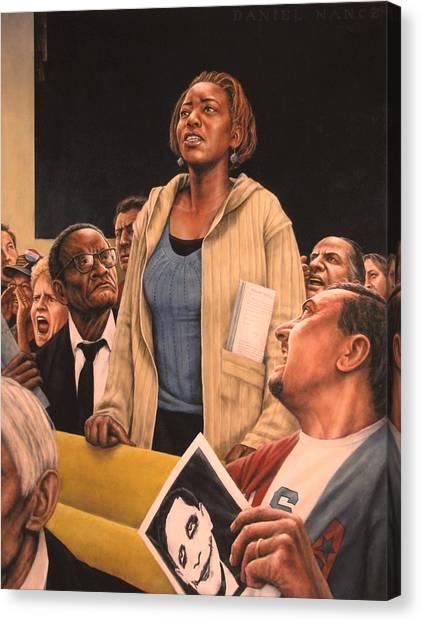 Freedom Of Speech 2010 Canvas Print by Dan  Nance