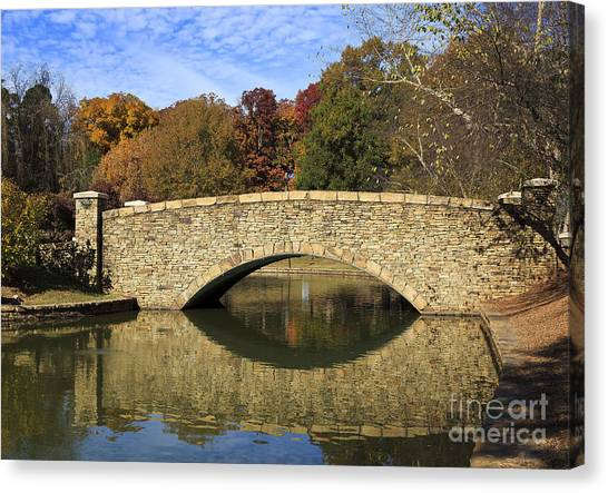 Freedom Park Bridge Canvas Print