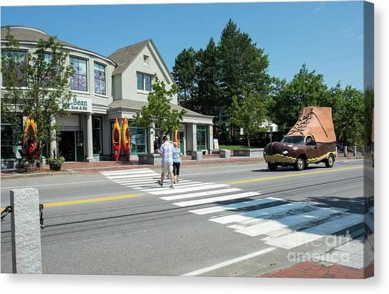 Freeport, Maine #130398 Canvas Print