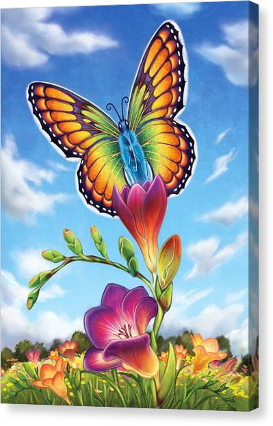 Freesia - Necessary Change Canvas Print