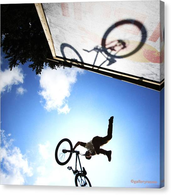 Freestyle Shadows Canvas Print