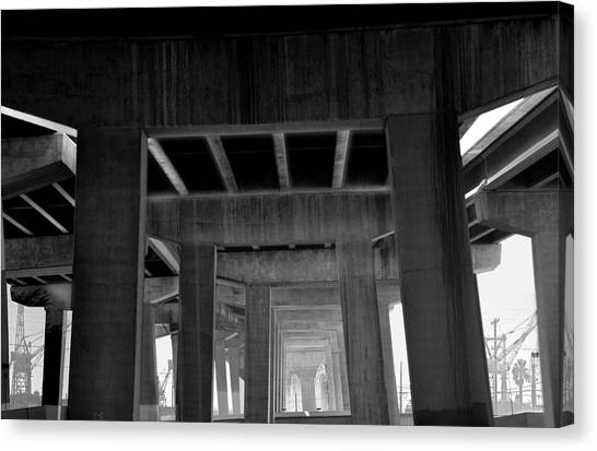 Freeway Canvas Print by Larry Butterworth