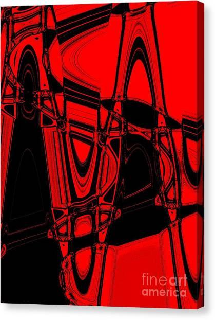 Freeways Canvas Print by Marsha Heiken