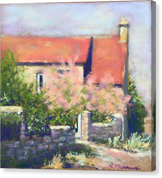 French Cottage Canvas Print
