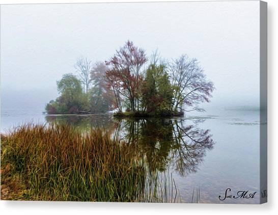 French Creek 17-106 Canvas Print