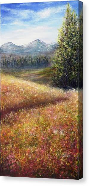 French Fields Canvas Print by Ann Marie Bone