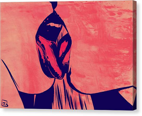 Kiss Canvas Print - French Kiss by Giuseppe Cristiano