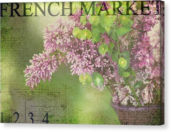 French Market Series M Canvas Print