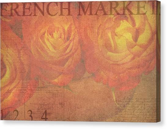 2efaf89285ef Markets Canvas Print - French Market Series N by Rebecca Cozart