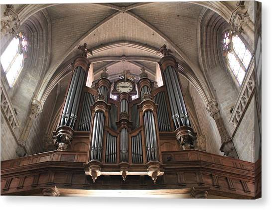 French Organ Canvas Print