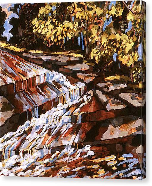 Frenchtown Creek Canvas Print