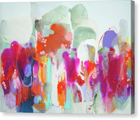 Canvas Print - Frenzy by Claire Desjardins
