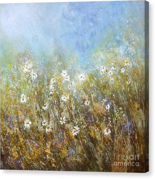 Fresh As A Daisy Canvas Print