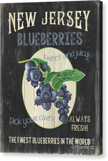 Diet Canvas Print - Fresh Berries 1 by Debbie DeWitt