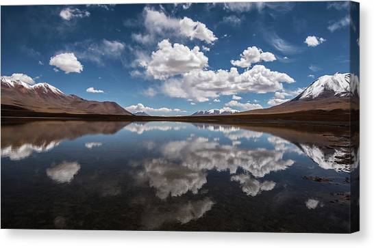 Bolivian Canvas Print - Fresh Breath by Aaron Bedell