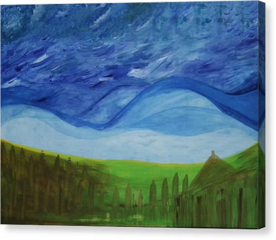 Fresh Breez From Dream World  Canvas Print by Prakash Bal Joshi