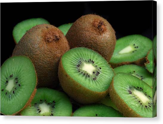 Fresh Kiwi Canvas Print