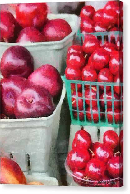 Fresh Market Fruit Canvas Print