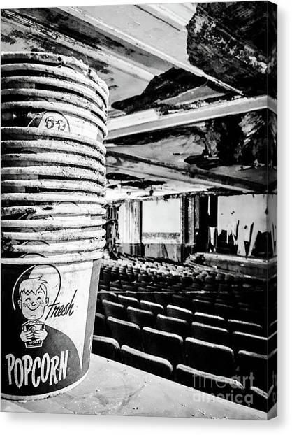 Fresh Popcorn Canvas Print by JMerrickMedia