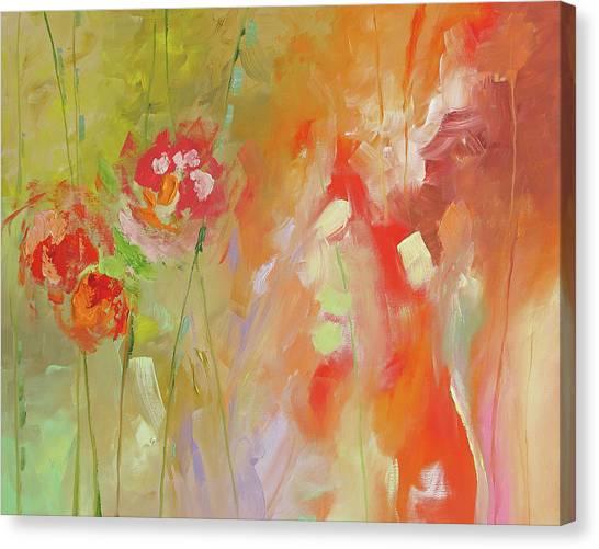 Fresh Start Canvas Print by Linda Monfort