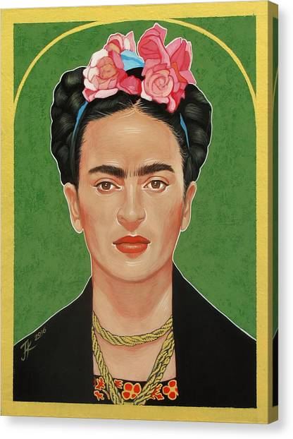 Frida Kahlo Canvas Print by Jovana Kolic