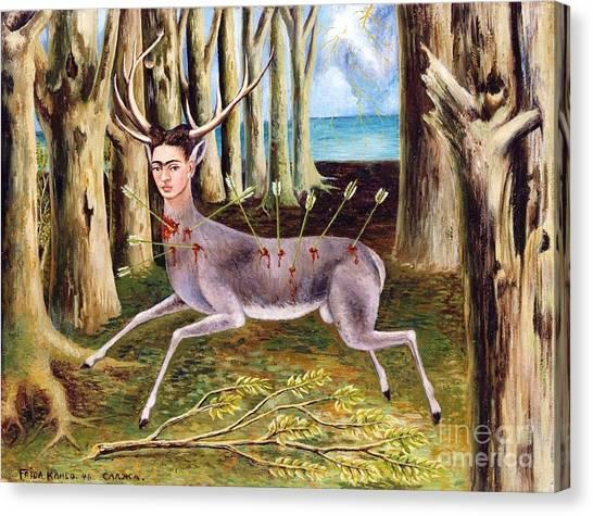 Frida Kahlo Venadito Canvas Print