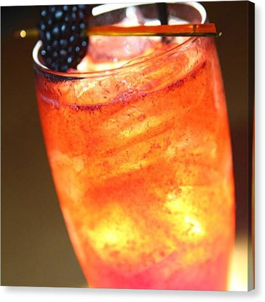 Liquor Canvas Print - Friday's Cocktail-#flintfood  #drink by Jaromir  Pesek
