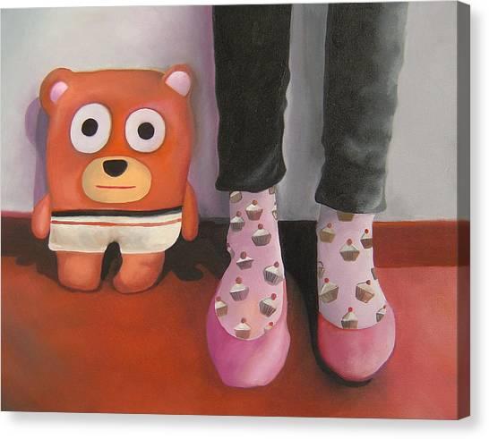 Friends 3 Canvas Print by Anastassia Neislotova