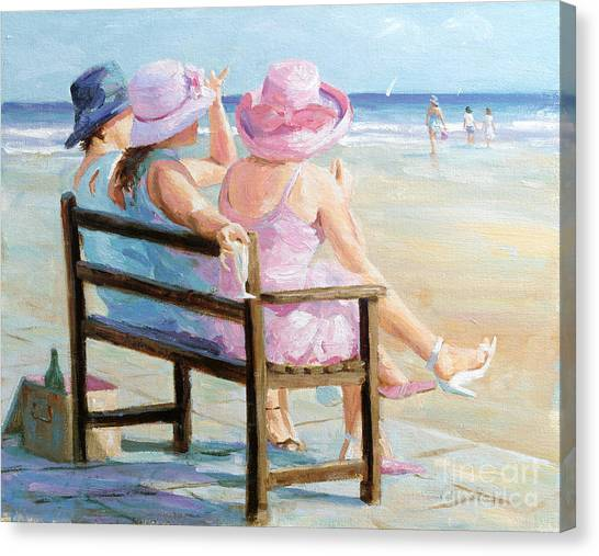 Friends Together Canvas Print by Paul Milner