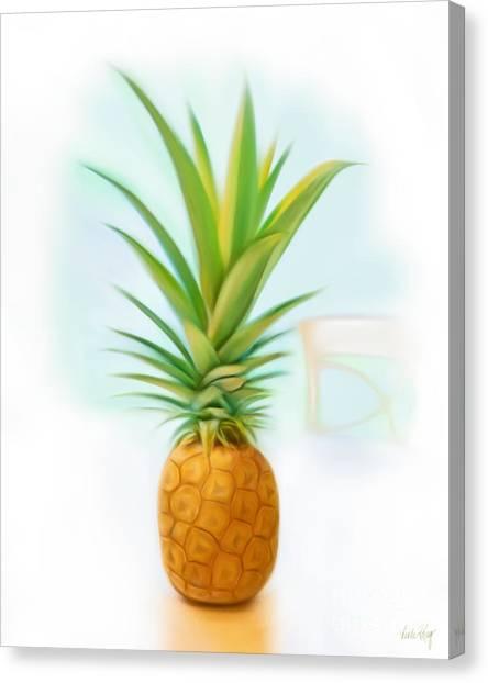 Linda King Canvas Print - Friendship Pineapple by Linda King