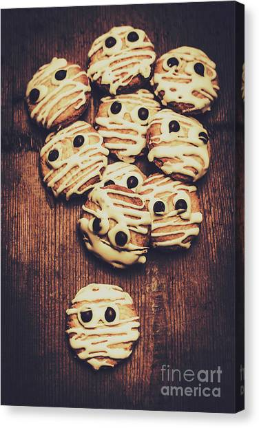 Biscuits Canvas Print - Fright Night Party Baking by Jorgo Photography - Wall Art Gallery