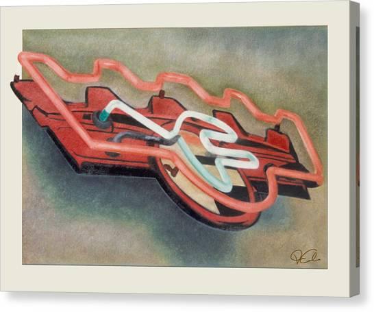 Frigidaire Canvas Print by Van Cordle