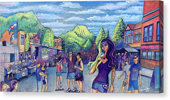 Frisco Bbq Festival 2017 Canvas Print