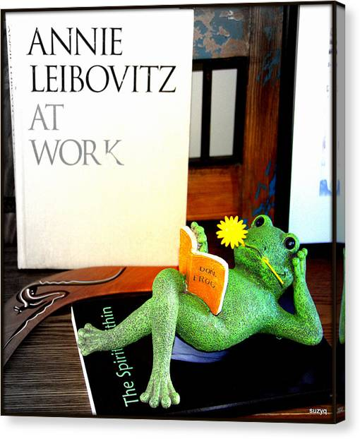 Annie Leibovitz Canvas Print - Frogs by Sue Rosen