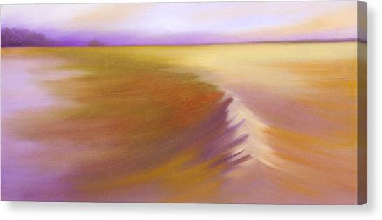 From A Distance Canvas Print by Bente Hansen