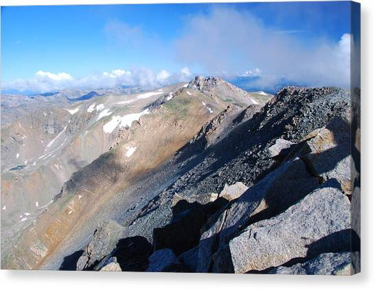 From Atop Mount Massive Canvas Print