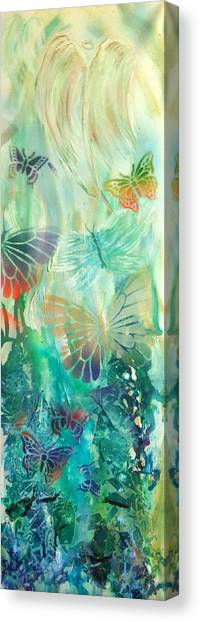 From Butterfly Whispers To Angel Wings Canvas Print