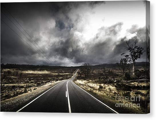 Barren Canvas Print - From Cradle To The Grey by Jorgo Photography - Wall Art Gallery