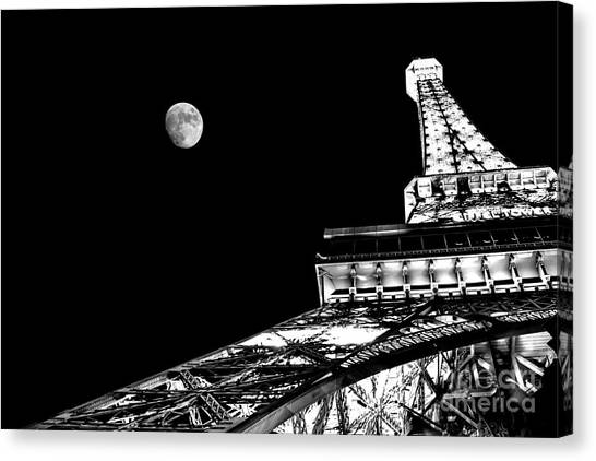 Eiffel Tower Canvas Print - From Paris With Love by Az Jackson