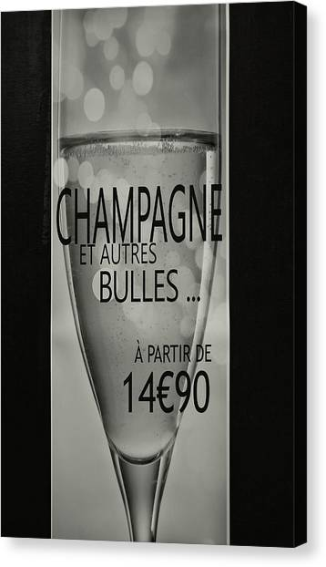 From Sweet To Brut Canvas Print by JAMART Photography
