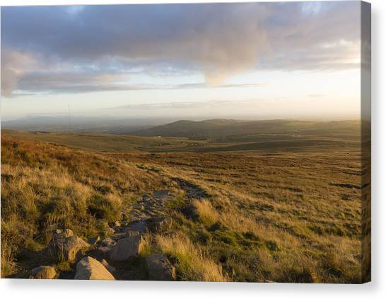 From The Black Mountain Canvas Print