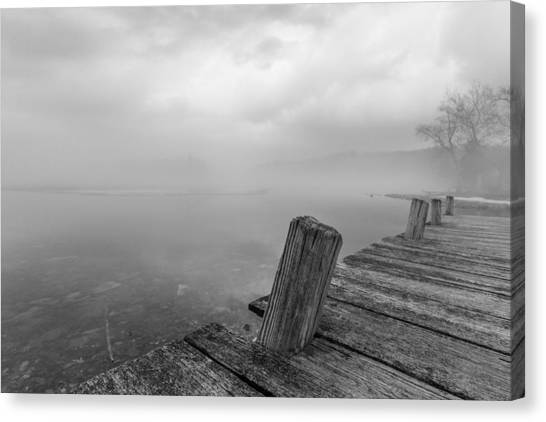 From The Dock Canvas Print