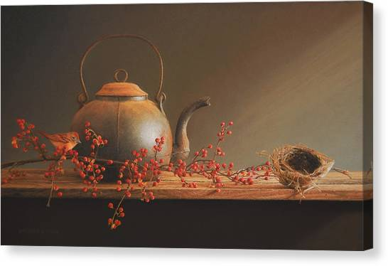 Bittersweet Canvas Print - From The Hearth by Barbara Groff