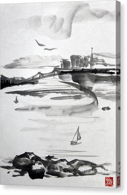 From The Marina Canvas Print