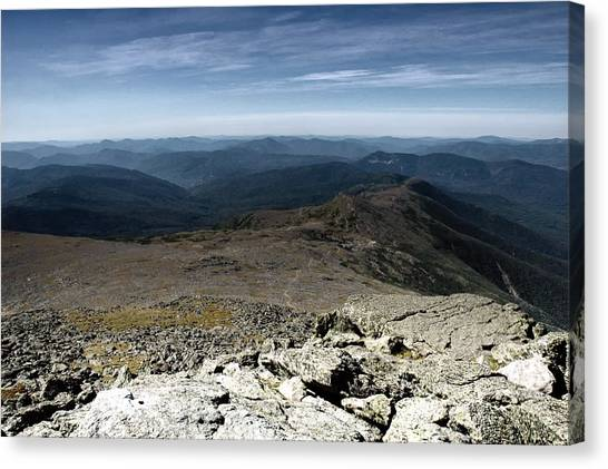 From The Summit Canvas Print by Ross Powell