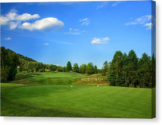 From The Tee Canvas Print
