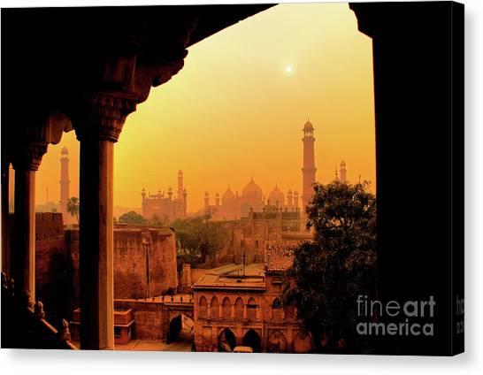 Mughal Empire  Canvas Print