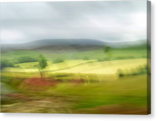 heading north of Yorkshire to Lake District - UK 1 Canvas Print