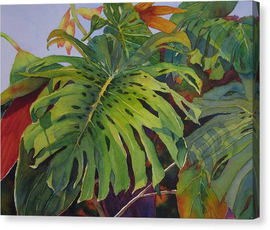 Fronds And Foliage Canvas Print