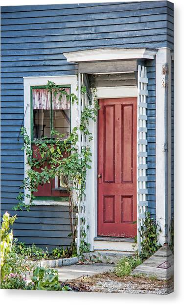 Front Door Three Canvas Print by Suzanne Bauer Photography